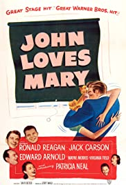 John Loves Mary Poster
