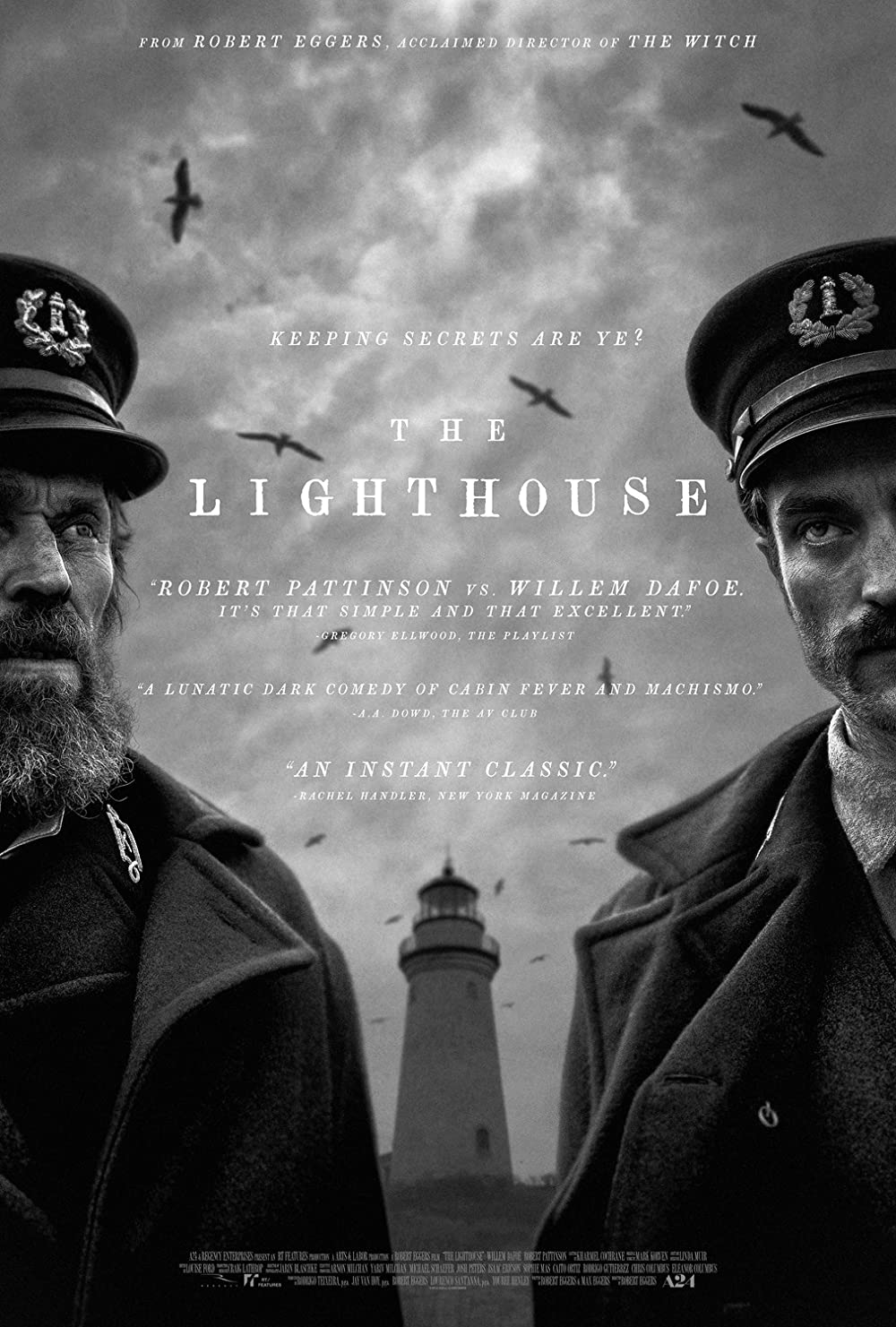 The Lighthouse (2019) 1080p HDRip Hindi ORG Dual Audio Movie NF MSubs [1.6GB]