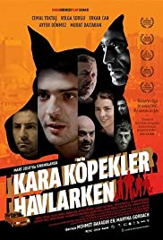 Black Dogs Barking Poster