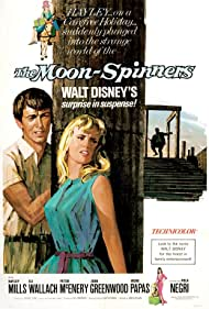 Hayley Mills and Peter McEnery in The Moon-Spinners (1964)