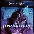 Zora Howard and Joshua Boone in Premature (2019)