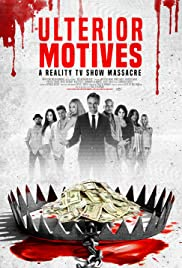 Ulterior Motives: Reality TV Massacre Poster