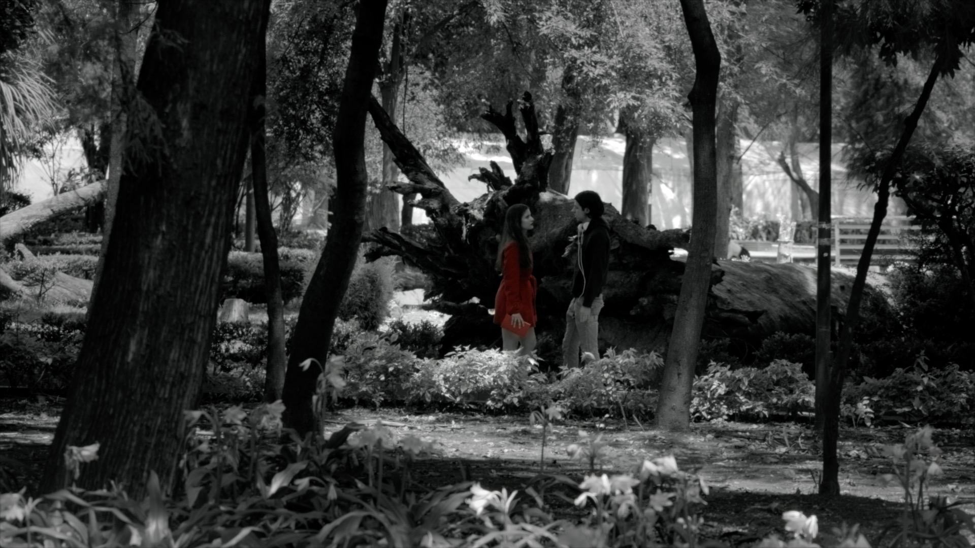 Karla Coronado and Andrés Delgado in Ouroboros (2019)