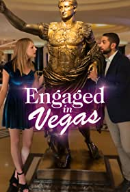 Jennifer Daley and Abe Schwartz in Engaged in Vegas (2021)