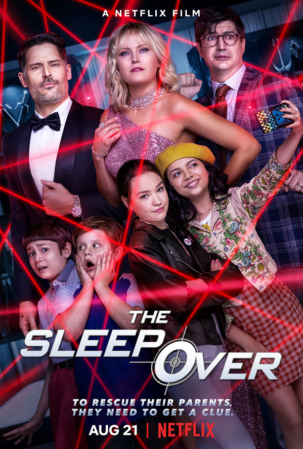 The Sleepover (2020) NF WEBRip Dual Audio [Hindi + English] 720p x264 Esubs