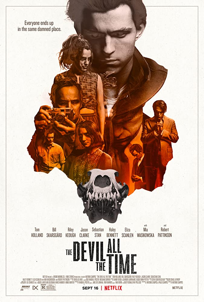 The Devil All the Time 2020 English 430MB NF HDRip ESubs Download