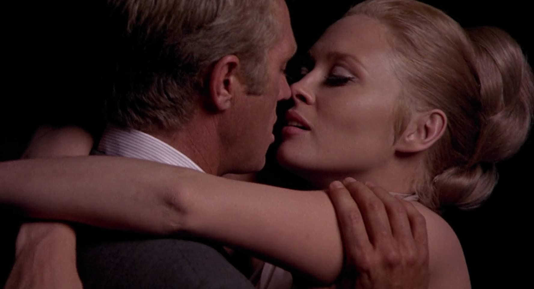 Steve McQueen and Faye Dunaway in The Thomas Crown Affair (1968)