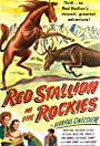 Red Stallion in the Rockies
