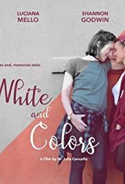 White and Colors Poster
