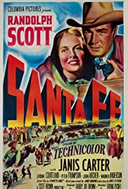 Santa Fe (1951) Poster - Movie Forum, Cast, Reviews