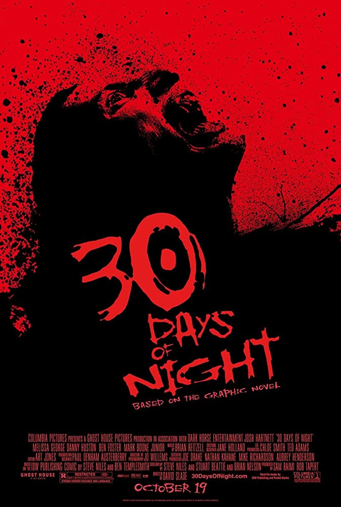 30 Days of Night 2007 Dual Audio Hindi 300MB BluRay 480p x264