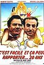 Robert Castel and Michel Galabru in C'est facile et ça peut rapporter... 20 ans (1983)