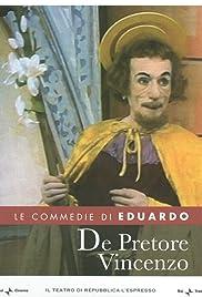 De Pretore Vincenzo Poster