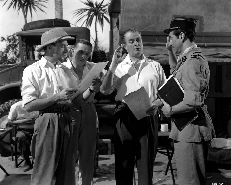 Jack Warner in The Huggetts Abroad (1949)