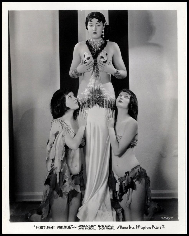 Virginia Dabney, Mary Dees, and Maxine Doyle in Footlight Parade (1933)