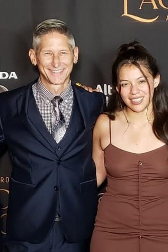 With Graciela Campos at the 2019 Nosotros Golden Eagle Awards