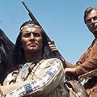 Lex Barker and Pierre Brice in Winnetou - 1. Teil (1963)