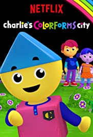 Charlie's Colorforms City Poster