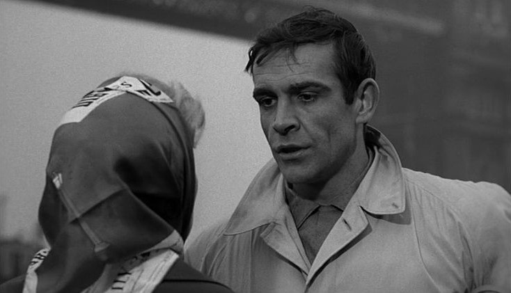 Sean Connery in The Frightened City (1961)