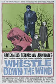 Alan Bates and Hayley Mills in Whistle Down the Wind (1961)