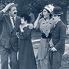 Charles Chaplin and Mack Swain in Getting Acquainted (1914)