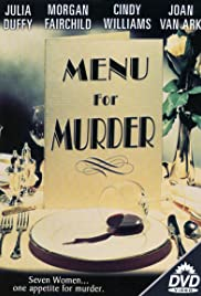 Menu for Murder Poster