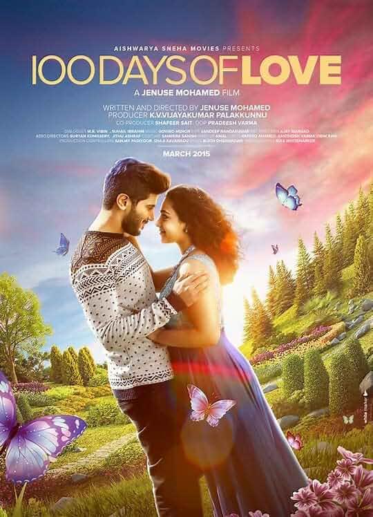 100 Days of Love (2020) Hindi Dubbed 720p HDRip 600MB