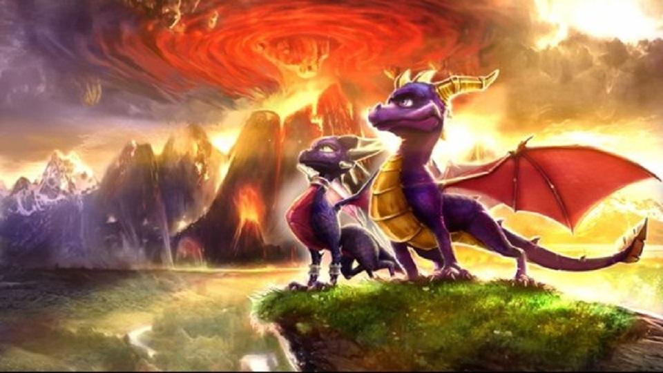 Risultati immagini per spyro dawn of the dragon