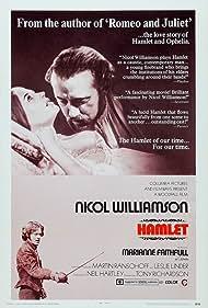 Marianne Faithfull, Michael Pennington, and Nicol Williamson in Hamlet (1969)