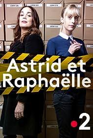 Lola Dewaere and Sara Mortensen in Astrid et Raphaëlle (2019)