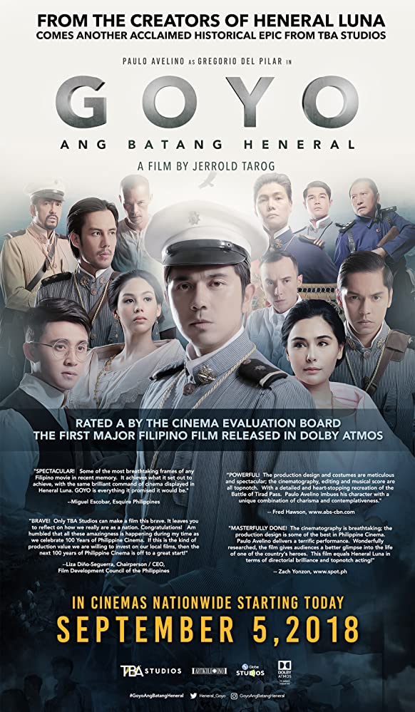 Goyo The Boy General / Untitled Gregorio Del Pilar Biopic ...