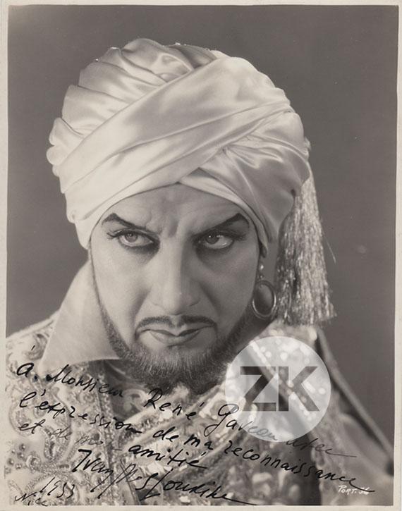 Ivan Mozzhukhin at an event for La mille et deuxième nuit (1933)
