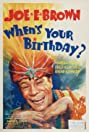 When's Your Birthday? (1937) Poster