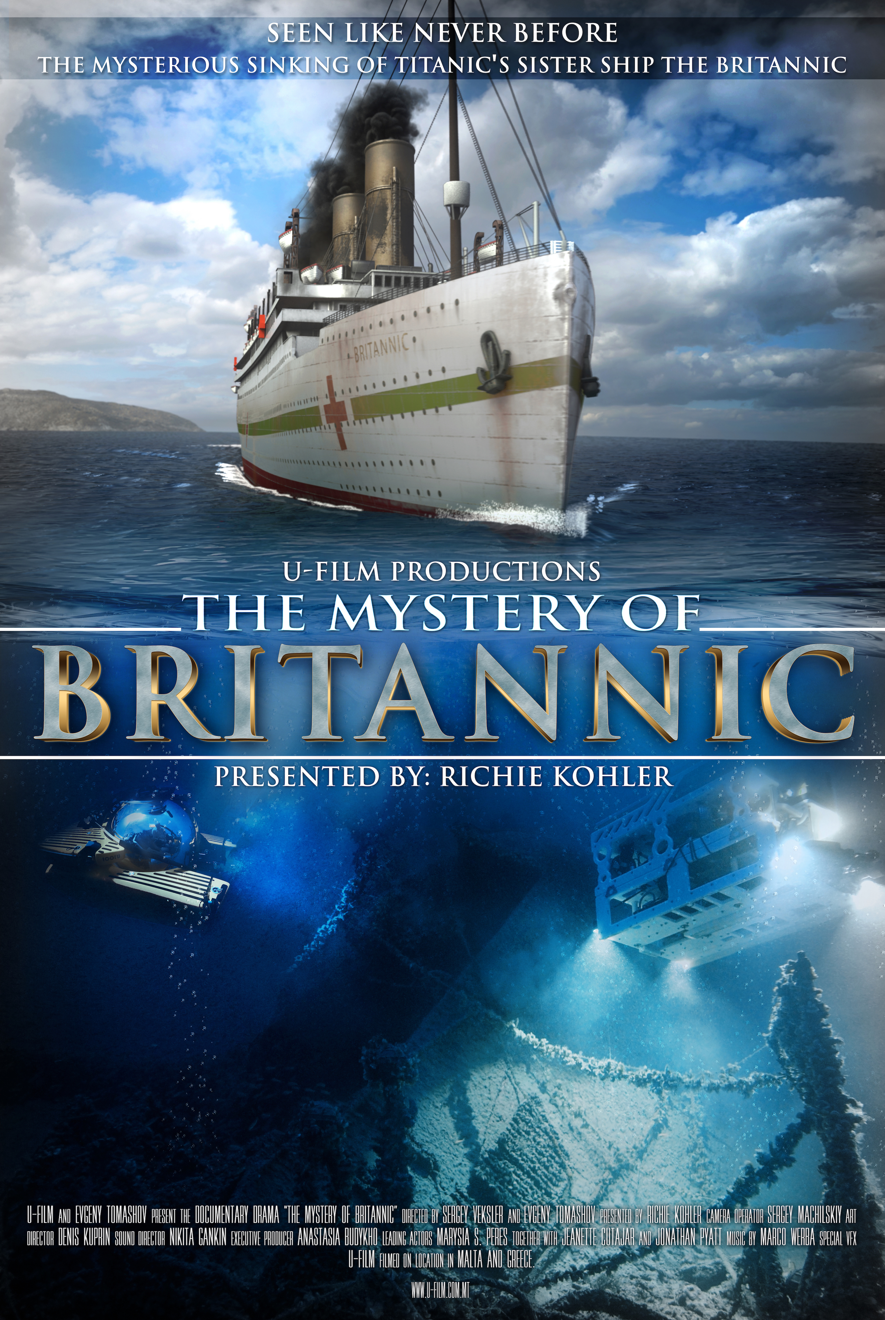 The Mystery Of Britannic Tv Movie 2017 Imdb