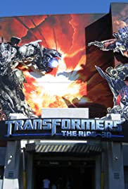 Transformers: The Ride - 3D Poster