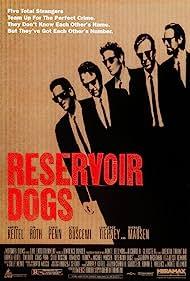 Steve Buscemi, Harvey Keitel, Michael Madsen, Tim Roth, and Chris Penn in Reservoir Dogs (1992)