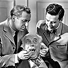 Asbjørn Andersen, Henning Moritzen, and Henrik Wiehe in Man kan aldrig vide (1960)