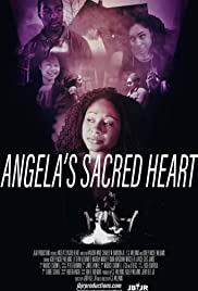 Angela's Sacred Heart Poster
