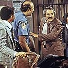 Ron Glass, Milt Kogan, and Hal Linden in Barney Miller (1975)