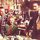 Betty Hutton, Arturo de Córdova, and Bill Goodwin in Incendiary Blonde (1945)