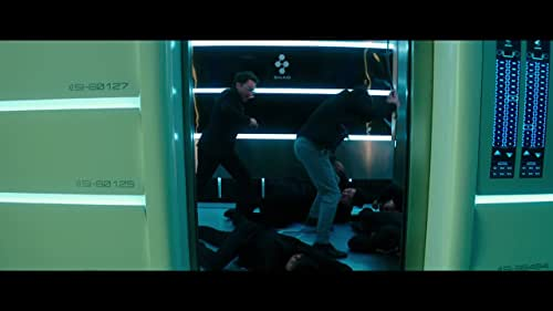 Gottlieb And Newt Fight Their Way Out Of An Elevator