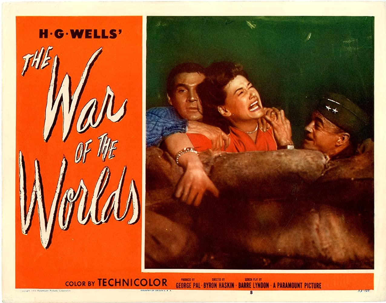 Gene Barry, Ann Robinson, and Les Tremayne in The War of the Worlds (1953)