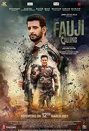Fauji calling (2021) DVDScr Hindi Movie Watch Online Free