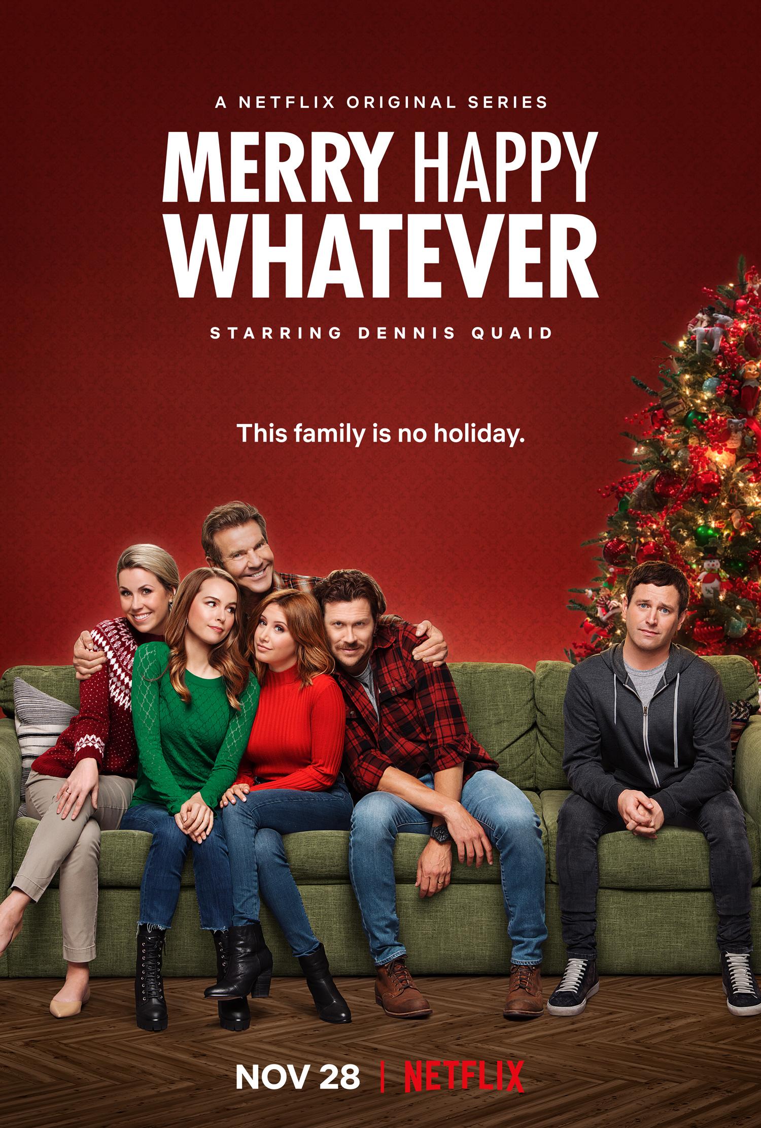 Linksmų laimingų bet ko (1 Sezonas) / MERRY HAPPY WHATEVER Season 1