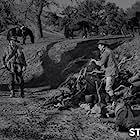 Ken Curtis, Milburn Stone, and Dennis Weaver in Gunsmoke (1955)