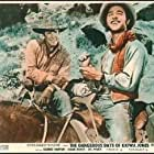 Sal Mineo and Robert Horton in The Dangerous Days of Kiowa Jones (1966)