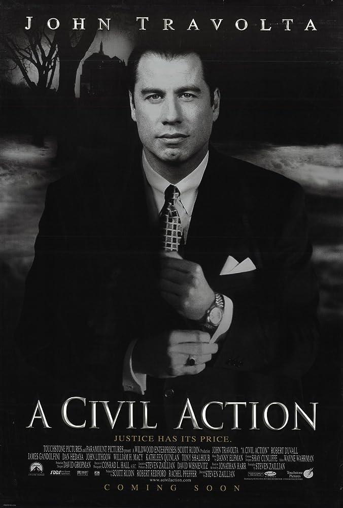 John Travolta in A Civil Action (1998)