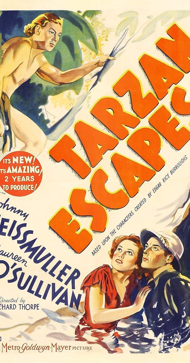Tarzan Escapes (1936) - IMDb