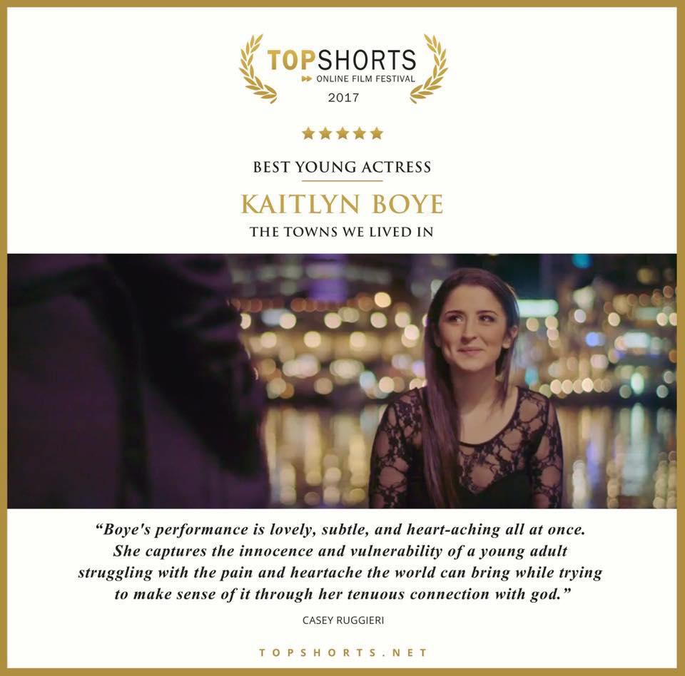 Top Shorts Award, 2017