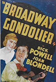 Broadway Gondolier (1935) Poster - Movie Forum, Cast, Reviews